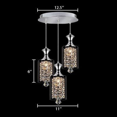 Kitchen Pendant Lights Crystal with 39