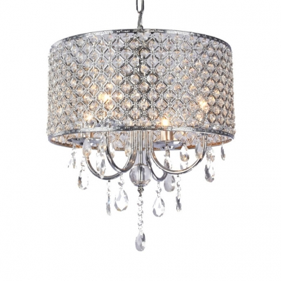 Modern Drum Pendant Lights with 23.5