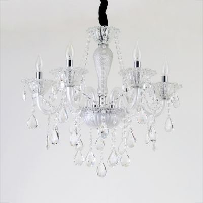 Living Room Candle Chandelier with 19.5
