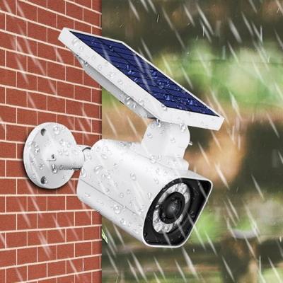 Solar Motion Sensor Light Outdoor Weatherproof 5 W 8-LED Security Wall Light for Yard Lawn