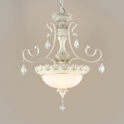 Traditional Bowl Hanging Lights with 19.5