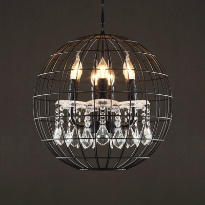 Globe Dining Room Chandelier with 39