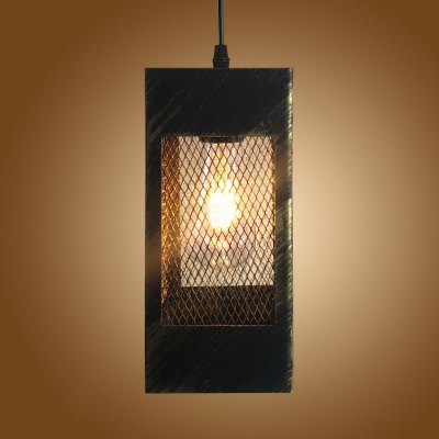 Metal Rectangle Overhead Lighting with 42