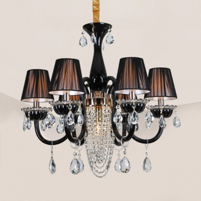 Antique Candle Chandelier with 12