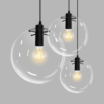 Gl Globe Led Hanging Lamp Height Adjule Single Light