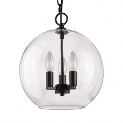 Industrial Candle Hanging Lighting with 60