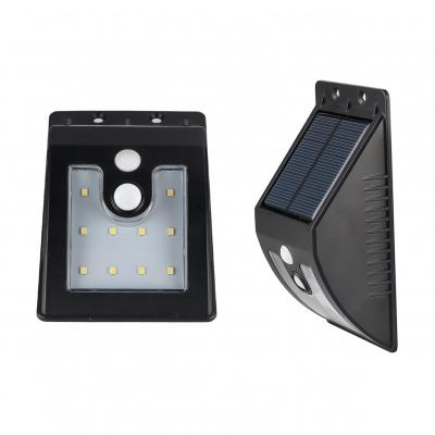 10 LED Solar Lights Garage Waterproof Dusk to Dawn Sensor Deck Lights in Warm/White
