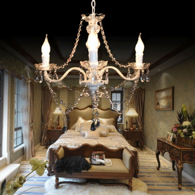 Classic Chandelier with Candle and 18