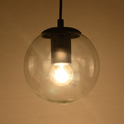 Modern Globe Ceiling Lamp with 47