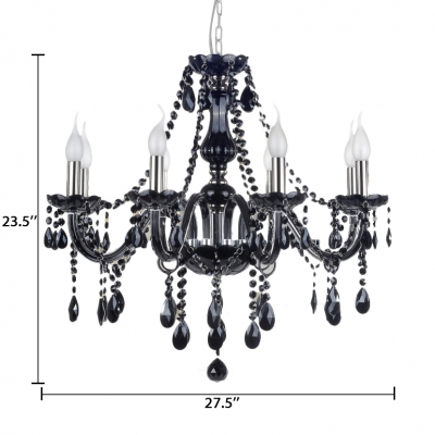 Candle Hanging Chandelier with 19.5