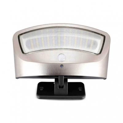 1/2 Pack Solar Motion Sensor Wall Lighting Wireless Security Wall Lighting for Front Door