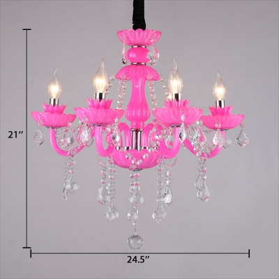 Traditional Candle Chandelier with 12