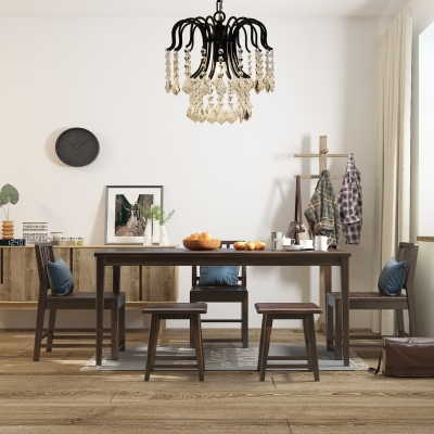 Contemporary Chandelier with 19.5