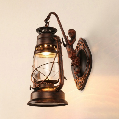 Sconce Light Single Antique Wall Lamp