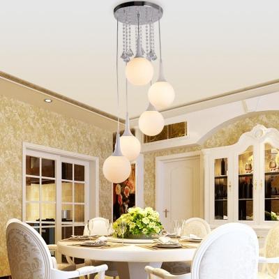 Modern Pendant Lighting Kitchen, Adjustable Ball Pendant Light