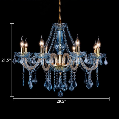 Dining Room Candle Chandelier with 12