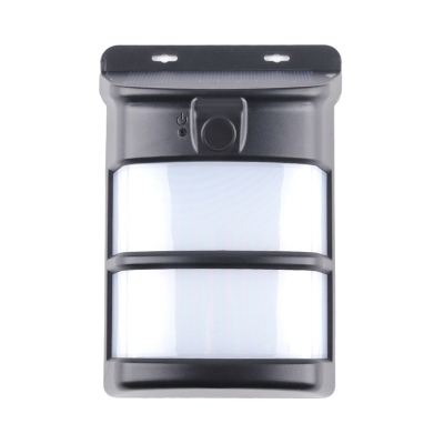 """Easy Install Solar Security Lamp 75 LED Wireless Wall Lighting for Yard Driveway, 5""""H x 3.5""""L x 3.5""""W, HL512056"""