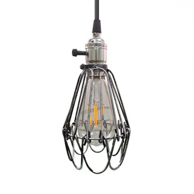 Wire Frame Pendant Ceiling Light with 39