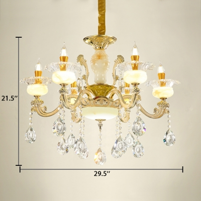 Dining Room Candle Chandelier with 19.5