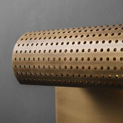 Creative Wall Light 1 Light Metal Sconce Light in Black/Gold for Hotel Restaurant