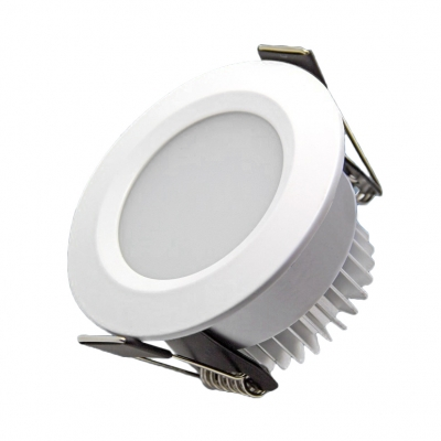 3W Round LED Light Fixture Pack of 10 Metal Flush Mount Recessed for Dining Room Restaurant