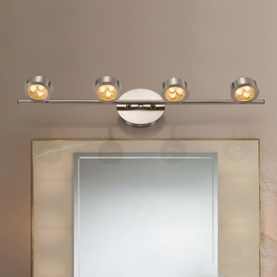 Mirror Bathroom Wireless Wall Light Waterproof 2/3/4 Heads High Life LED Spot Light in White/Warm White