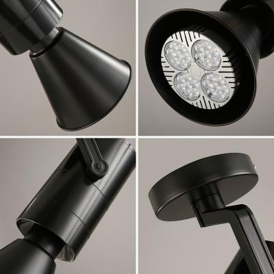 Vintage High Brightness Spot Light Angle Adjustable Aged Bronze/White LED Flush Mount Light in White/Warm for Bar