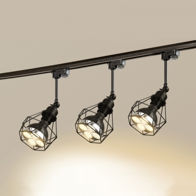 1 Head Cage Frame Ceiling Light