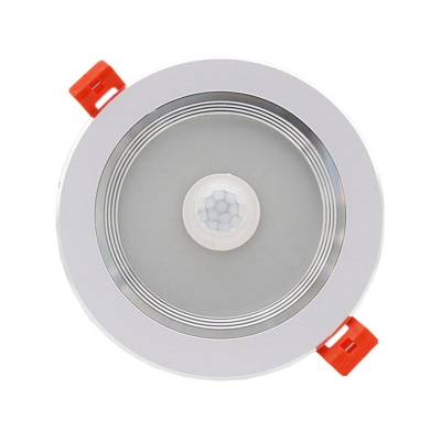 (10 Pack)3/5/6 Inch Circle Recessed Down Light 5/12/18W LED Flush Mount Recessed with Motion Sensor