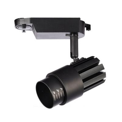 (3 Pack)Adjustable Focus Track Light 1 Light Aluminum Rotatable LED Ceiling Lamp in White/Warm for Mall