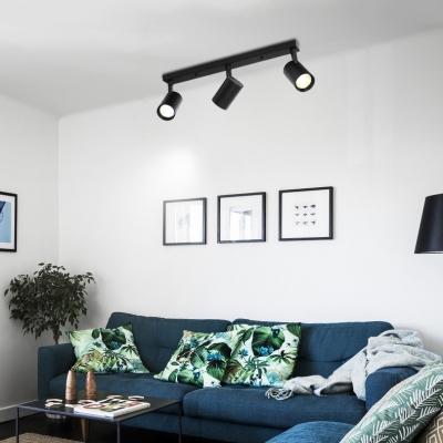 Angel Adjustable Aluminum Spot Light Black/White Wireless LED Track Lighting for Bedroom Living Room