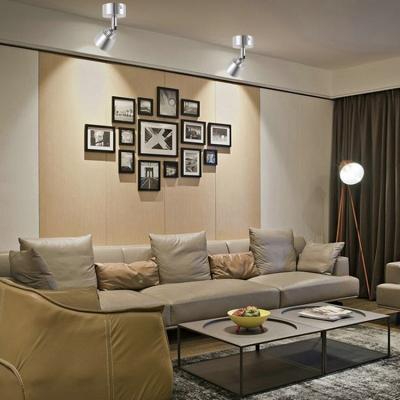 (2 Pack)Black/Silver Bell Shape Ceiling Fixture Bedroom Angel Adjustable COB Spot Light in White/Warm White