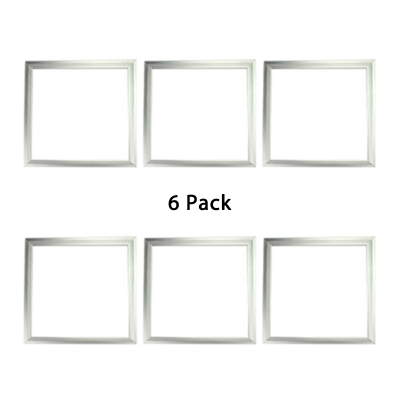 6 Pack Bedroom Hallway Acrylic Aluminum Recessed Light 12 23 5