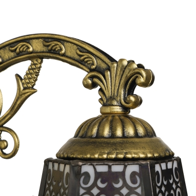 6 Inches Width Tiffany One Light Wall Sconce