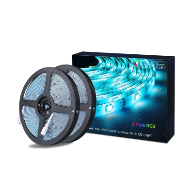 Bluetooth Light Strip Christmas 33ft Decorative 5050 RGB Fairy Light with Remote Controller