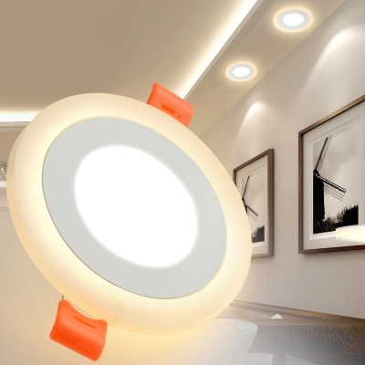 (10 Pack)Dimmable 2.5-3 Inch LED Ceiling Light Recessed Wireless Slim Panel Light Fixture Recessed for Living Room