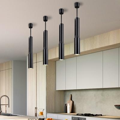 Bedroom Hallway Wireless Aluminum Spot Light Angel Adjustable Cylinder LED Ceiling Light