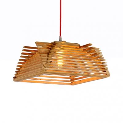 Cottage Style Trapezoid Pendant