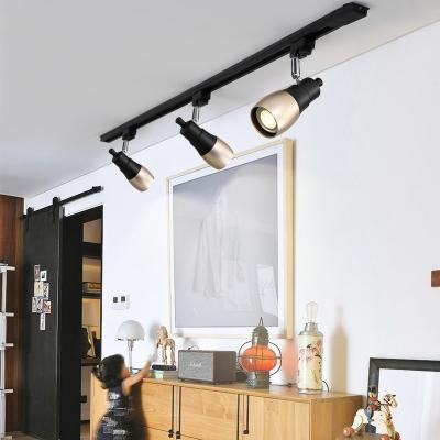 Living Room Rotatable Track Lighting