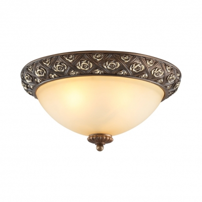 Vintage Style Ceiling Light Dome 3