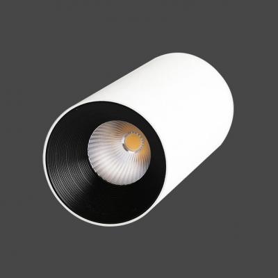 Gold/Black/White LED Flush Mount Light Aluminum Cylinder Spot Light in White/Warm for Restaurant Hotel