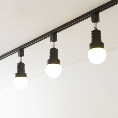 Gallery Showroom Rotatable Track Lighting 3 4 Lights Commercial