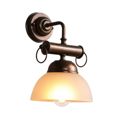 Double Bubble Sconce Light Dining Room Single Antique Wall