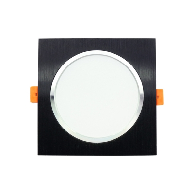 3W Square Recessed Down Light Pack of 10 Single Head Recessed Light in Warm White for Bedroom Bathroom