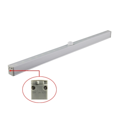 1/2/4 Pack USB Charging Counter Lighting Off-On-Auto Switch Closet Lighting with Infrared Sensor in White/Warm