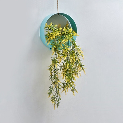 Plant Decoration String Lamp Dining Room Living Room Rustic Style Metal Hanging Light