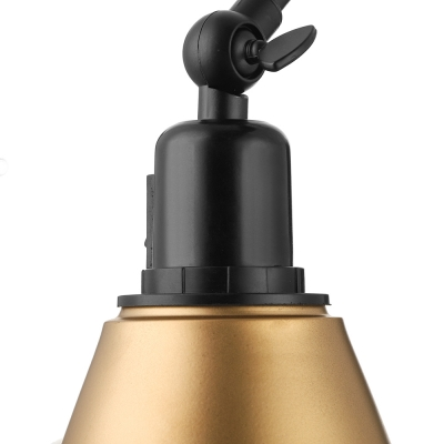 Industrial Swing Arm Wall Sconce, 5