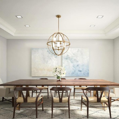 Dining Room Globe Chandelier Dining Room Ideas Designs