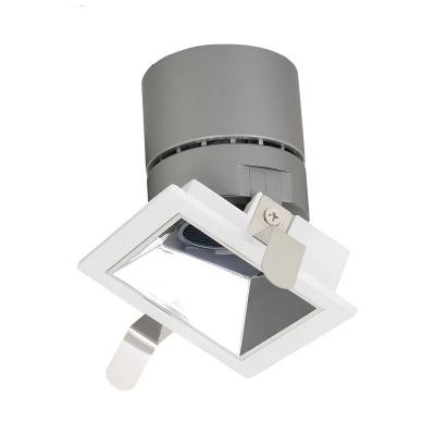 6 Pack 12 15w Square Cob Recessed Light Wireless Led Light Fixture