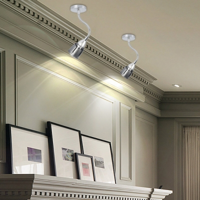 (2 Pack)Modes Optional LED Spot Light Angle Adjustable High Brightness Ceiling Light in White/Warm